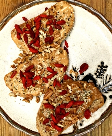 toast and nut butter